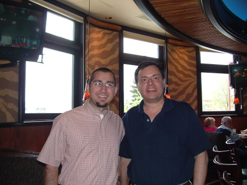 Ken Calhoun and Ryan Healy at the Elephant Bar
