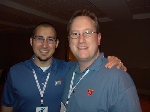 David Hancock with Ryan Healy
